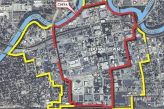 Downtown Map for Downtown Design Standards
