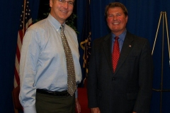 2009/11/11: Councilman Mitch Harper and Geoff Paddock