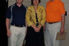 Charlie White, Pam Holocher and Councilman Mitch Harper