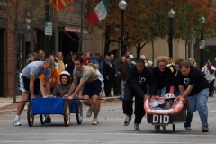 The last coffin race with the DID winners on the right