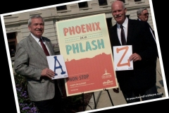 2013/08/20: Mayor Tom Henry and Nelson Peters