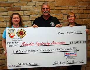 "Another Successful MDA ""Fill the Boot"" Campaign"