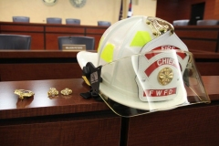 2012/07/02: FWFD Chief's helmet