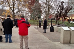 Rededication of the General Anthony Wayne statue