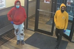 Pizza Hut robbery suspects wanted
