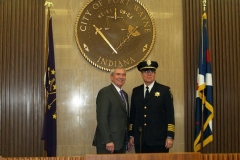 2010/12/06: Mayor Tom Henry and FWPD Chief Rusty York