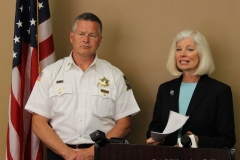 2014/05/23: Captain Tom Bandor and Prosecuting Attorney Karen Richards