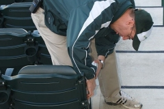2009/04/11: TinCaps President Mike Nutter at work