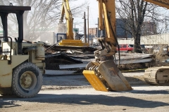 2009/03/03: 1120 Ewing Street, demolished