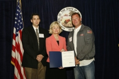 Russ Garriot, Lt. Governor Becky Skillman and Blaine Stuckey