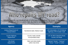 Who repairs my roads?