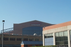 The Lucas Oil Stadium