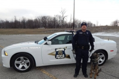 Trooper Christopher Davis and Duke
