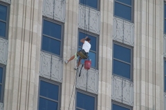 2009/07/15: Lincoln Tower window cleaning