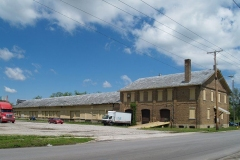 The former Lake Shore and Michigan Railroad Freight Station