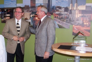 Dan O\'Connell and Mayor Tom Henry