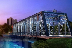 Historic Wells Street Bridge lighting project