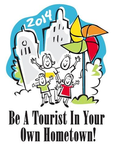 2014 Be A Tourist In Your Own Hometown logo