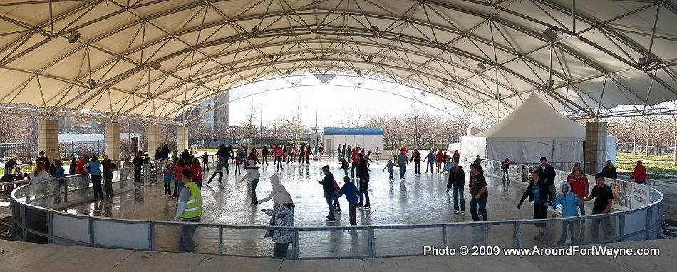 Headwaters Park Outdoor Ice Skating Rink