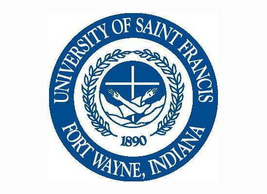 USF University of Saint Francis seal side