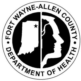 COVID-19 Fort Wayne Indiana Allen County Department of Health logo