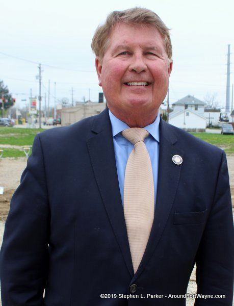Fort Wayne City Councilman Geoff Paddock