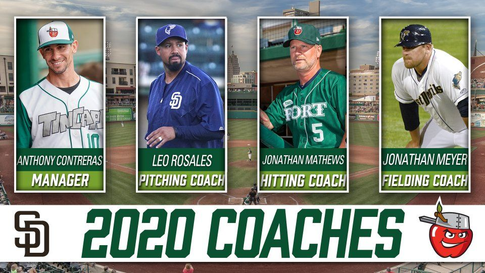 2020 TinCaps Coaching Staff announced