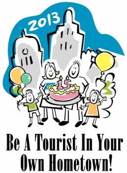 2013 Be A Tourist in Your Hometown logo