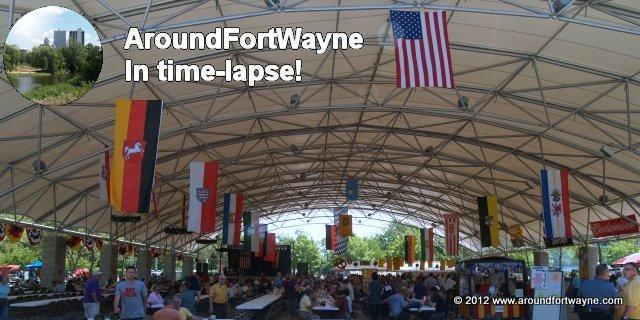 Germanfest - AroundFortWayne in time-lapse