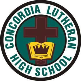 CLHS Concordia Lutheran High School logo