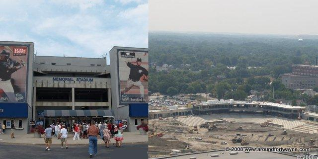 TBT Wizards/Parkview Field construction