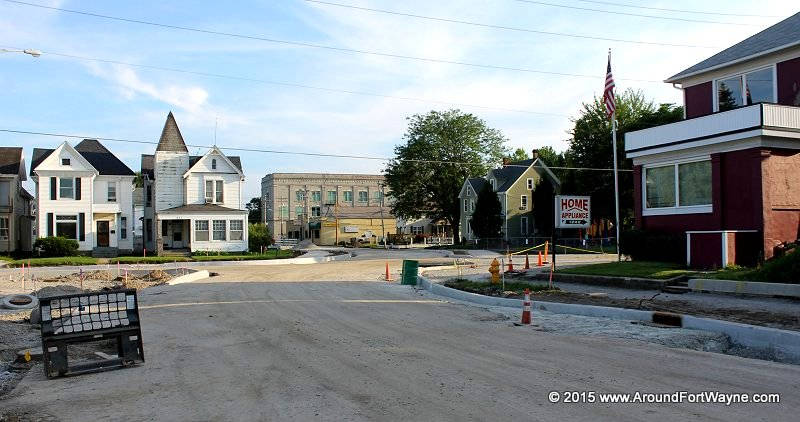 Fairfield Avenue and Brackenridge Street intersection re-construction