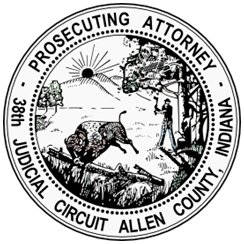 Allen County Prosecuting Attorney seal