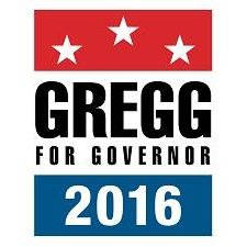 Gregg For Governor 2016 logo
