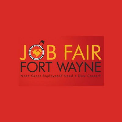 Job Fair Fort Wayne side logo