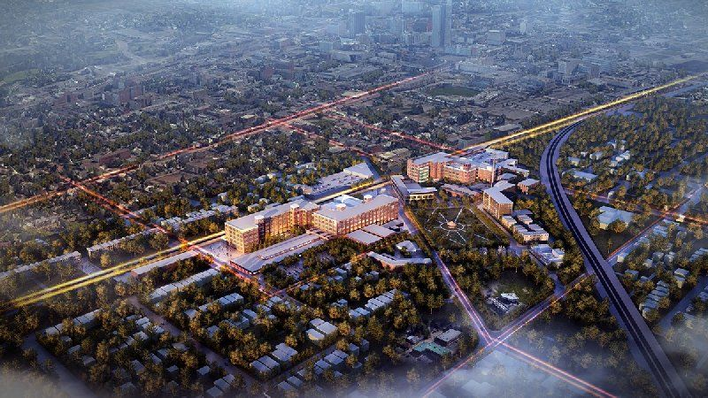 Rending of GE in the future provided by Greater Fort Wayne.