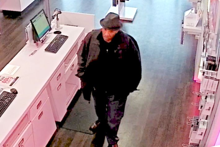Bank robbery suspect wanted by the FWPD.