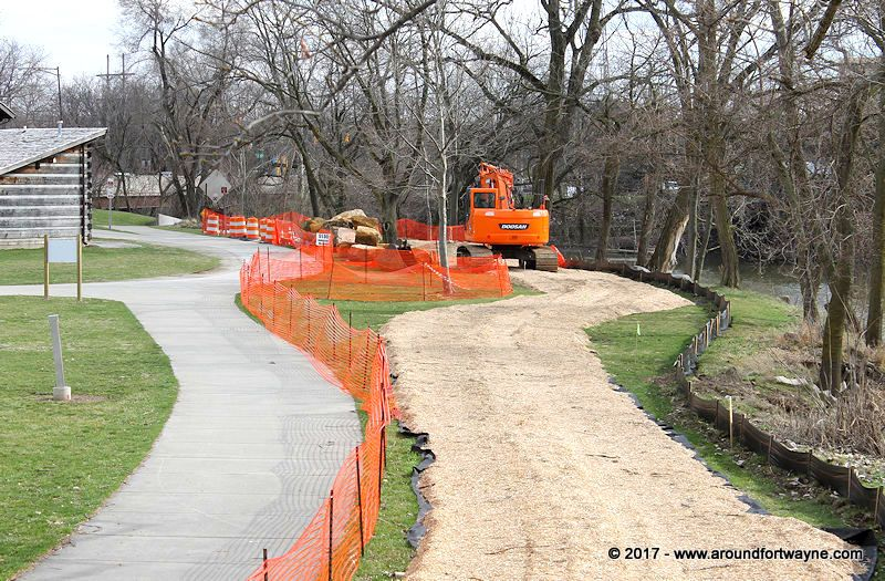 Downtown river stabilization project