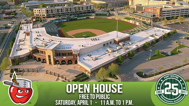 2017 TinCaps Open House graphic