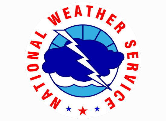 National Weather Service side logo