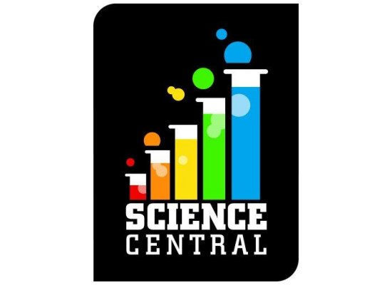 Science Central side logo