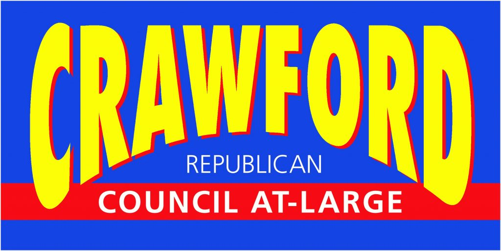 John Crawford, Council At-Large banner