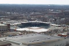 Parkview Field under construction